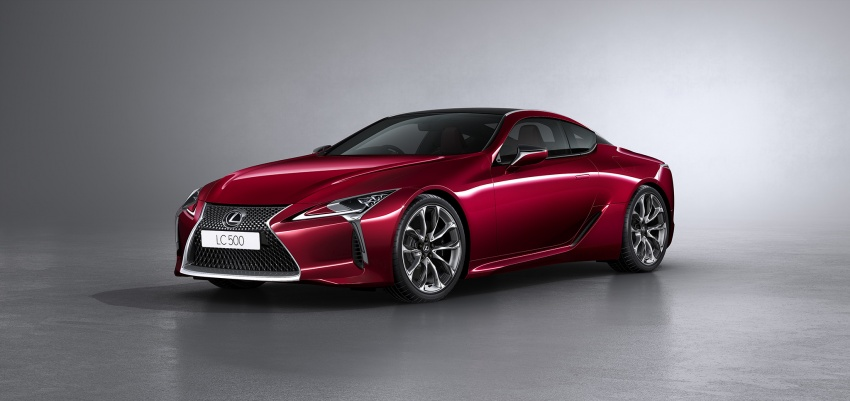 Lexus LC 500 officially launched in Malaysia – 5.0 litre V8, 10-speed auto, 0-100 km/h in 4.4 seconds, RM940k Image #688222