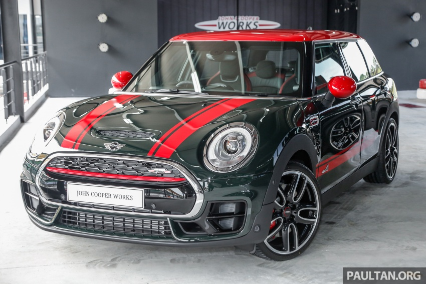 MINI John Cooper Works Clubman launched in Malaysia – 231 hp, 0-100 km/h in 6.3 secs, RM328,888 Image #684298