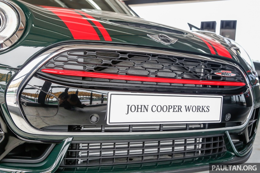 MINI John Cooper Works Clubman launched in Malaysia – 231 hp, 0-100 km/h in 6.3 secs, RM328,888 Image #684310