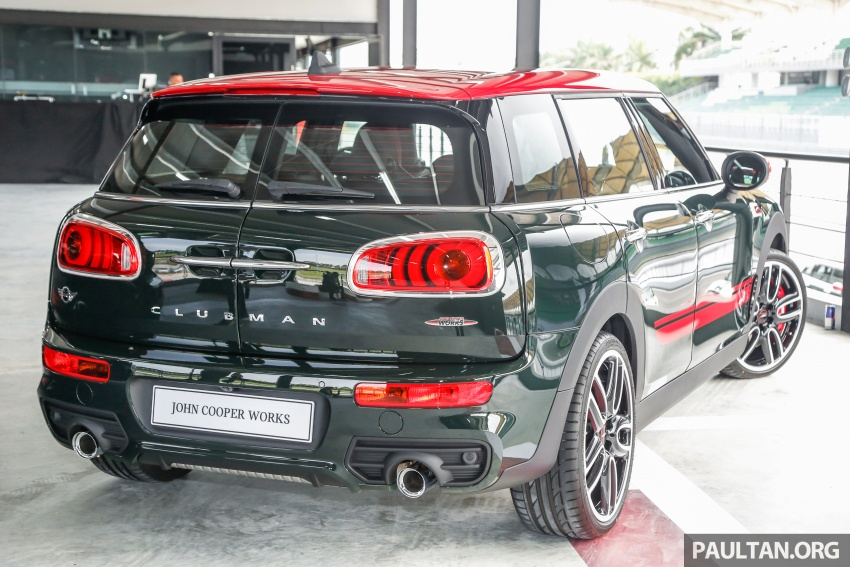 MINI John Cooper Works Clubman launched in Malaysia – 231 hp, 0-100 km/h in 6.3 secs, RM328,888 Image #684299