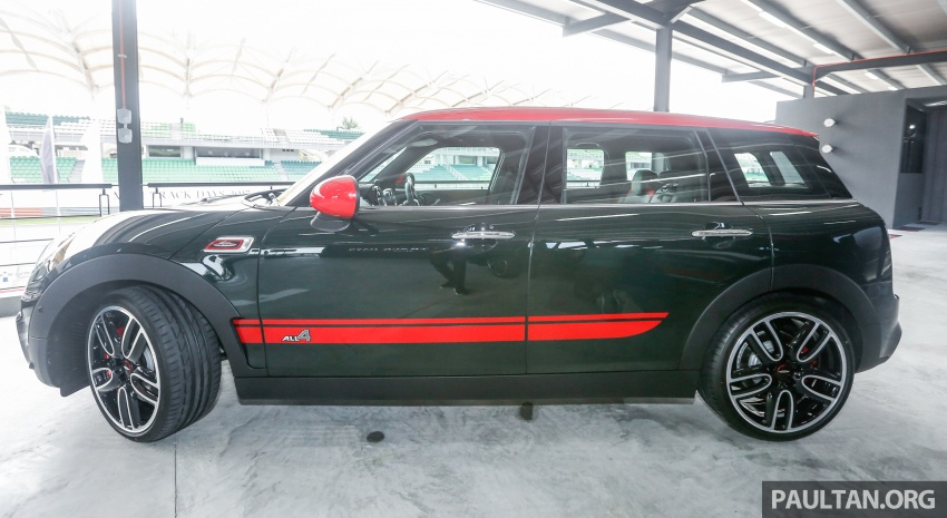 MINI John Cooper Works Clubman launched in Malaysia – 231 hp, 0-100 km/h in 6.3 secs, RM328,888 Image #684301