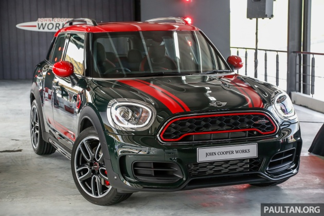 Mini John Cooper Works Countryman Launched In Malaysia 231 Hp 0 100 Km H 6 5 Secs Rm348 888