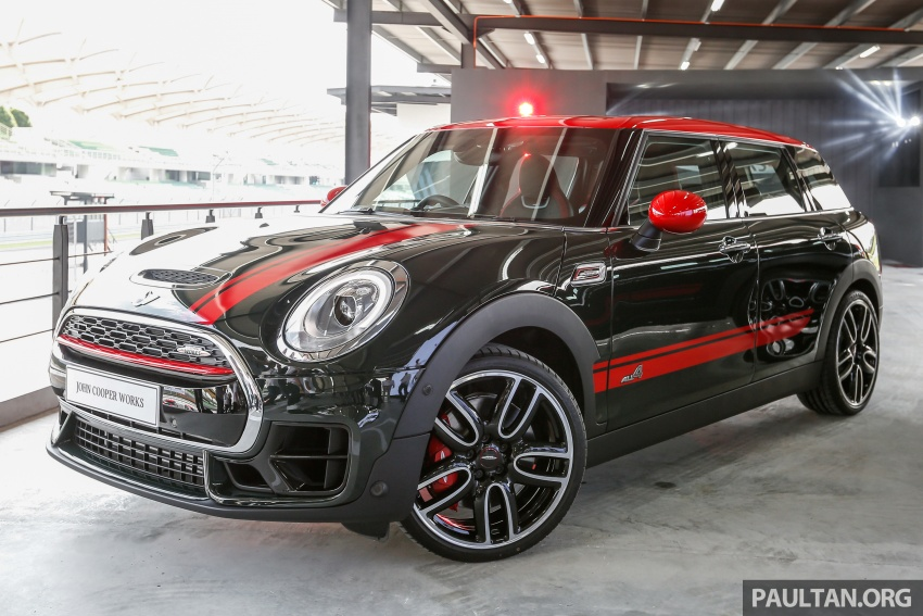 MINI John Cooper Works Clubman launched in Malaysia – 231 hp, 0-100 km/h in 6.3 secs, RM328,888 Image #684019