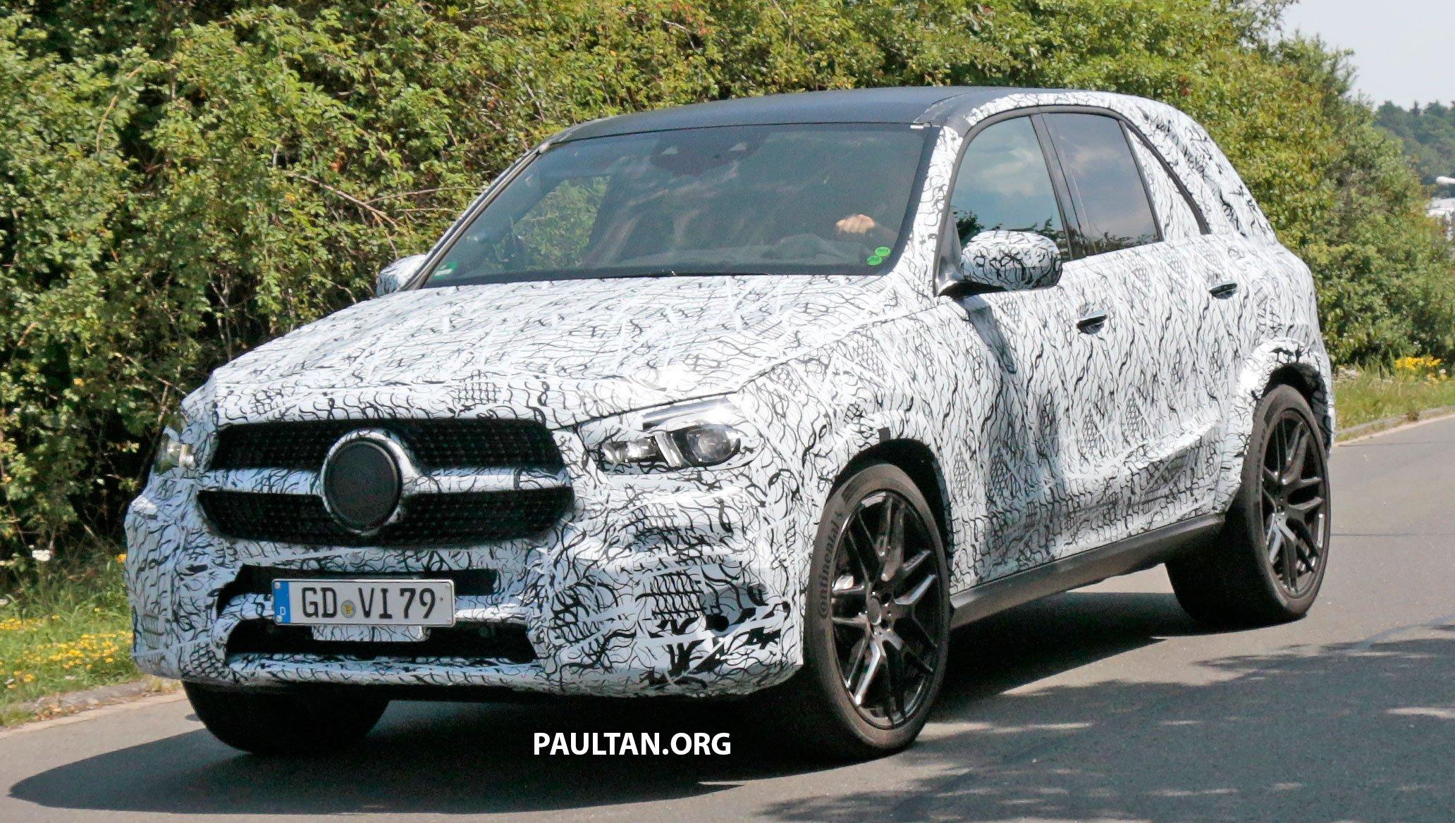 Spyshots 2018 Mercedes Amg Gle63 Road Testing