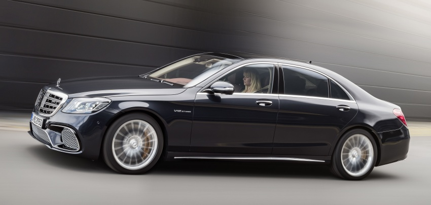 W222 Mercedes-Benz S-Class facelift gains more engine options – electrified petrol inline-6, biturbo V12 Image #684662