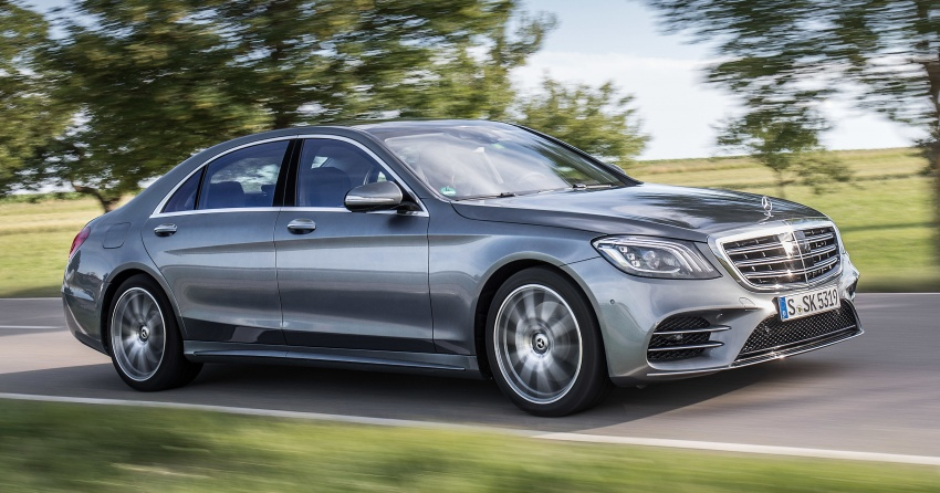 W222 Mercedes-Benz S-Class facelift gains more engine options – electrified petrol inline-6, biturbo V12 Image #684663