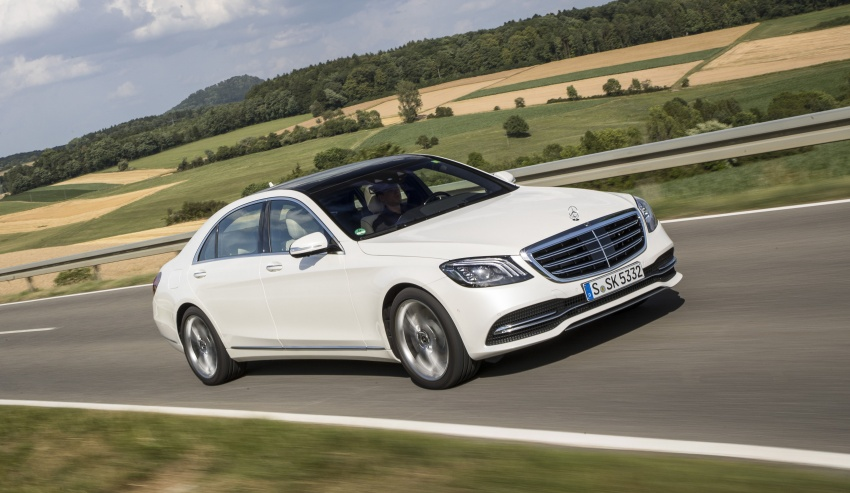W222 Mercedes-Benz S-Class facelift gains more engine options – electrified petrol inline-6, biturbo V12 Image #684664