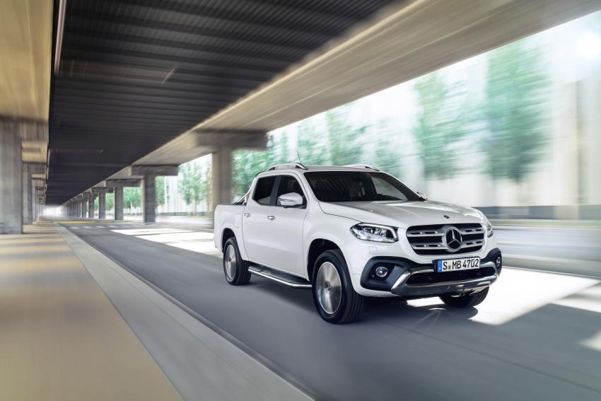 Mercedes-Benz X-Class – premium pick-up debuts Image #685148