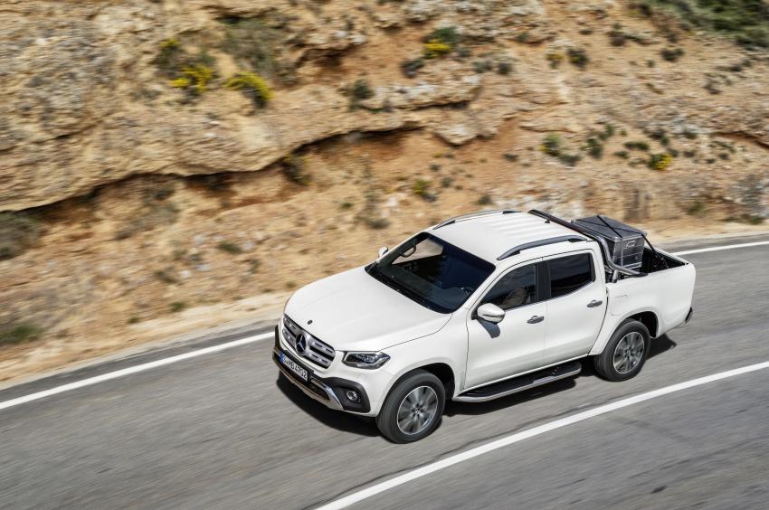 Mercedes-Benz X-Class – premium pick-up debuts Image #685149