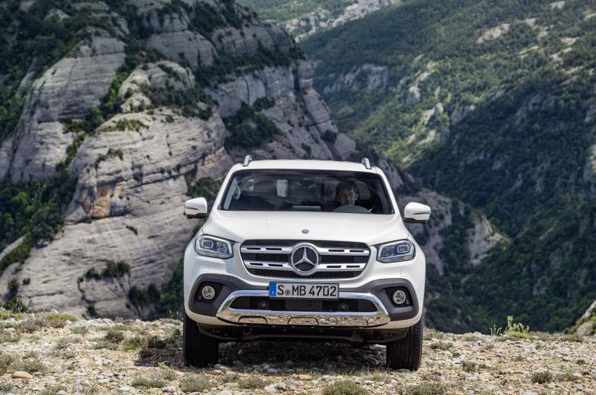 Mercedes-Benz X-Class – premium pick-up debuts Image #685161