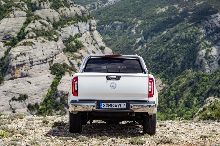 Mercedes-Benz X-Class – premium pick-up debuts Image #685162