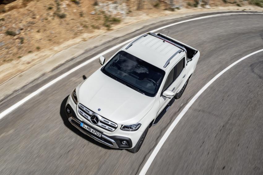 Mercedes-Benz X-Class – premium pick-up debuts Image #685168