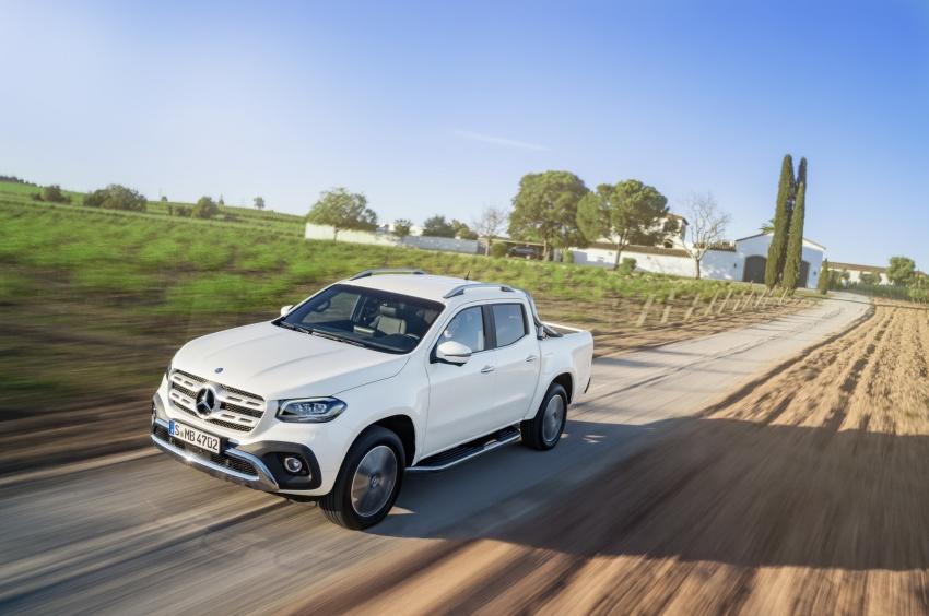 Mercedes-Benz X-Class – premium pick-up debuts Image #685150