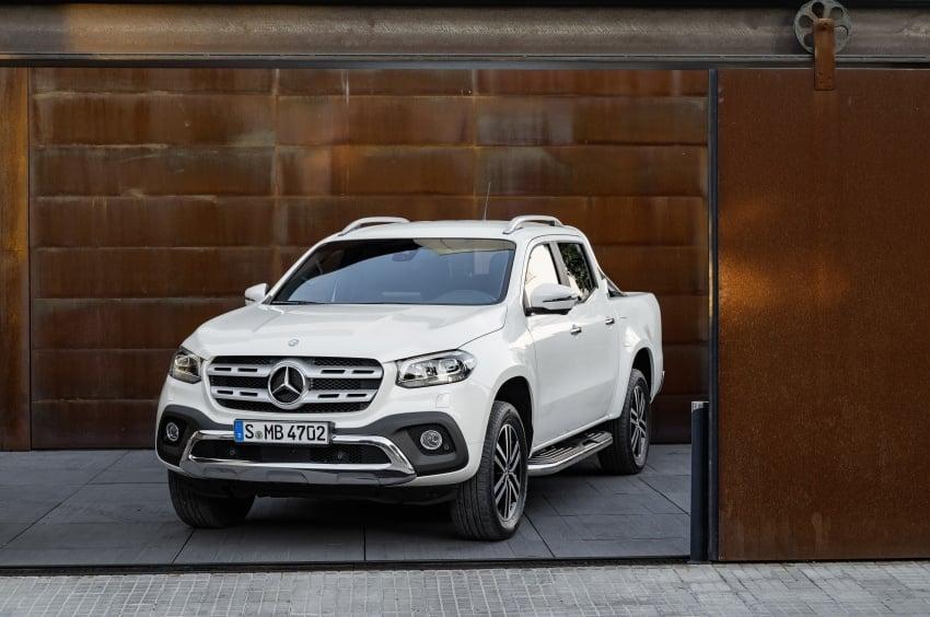 Mercedes-Benz X-Class – premium pick-up debuts Image #685180