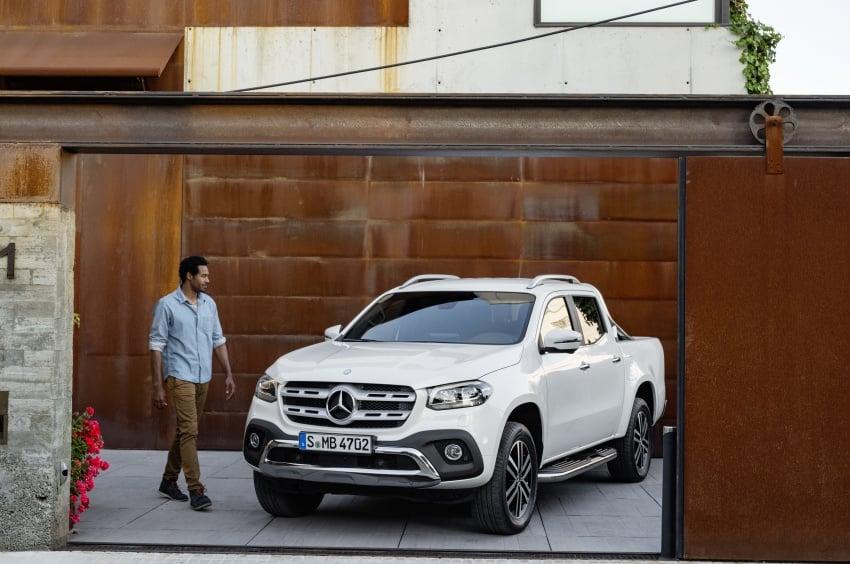 Mercedes-Benz X-Class – premium pick-up debuts Image #685181