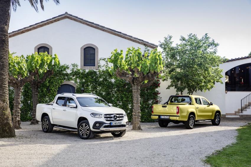 Mercedes-Benz X-Class – premium pick-up debuts Image #685183