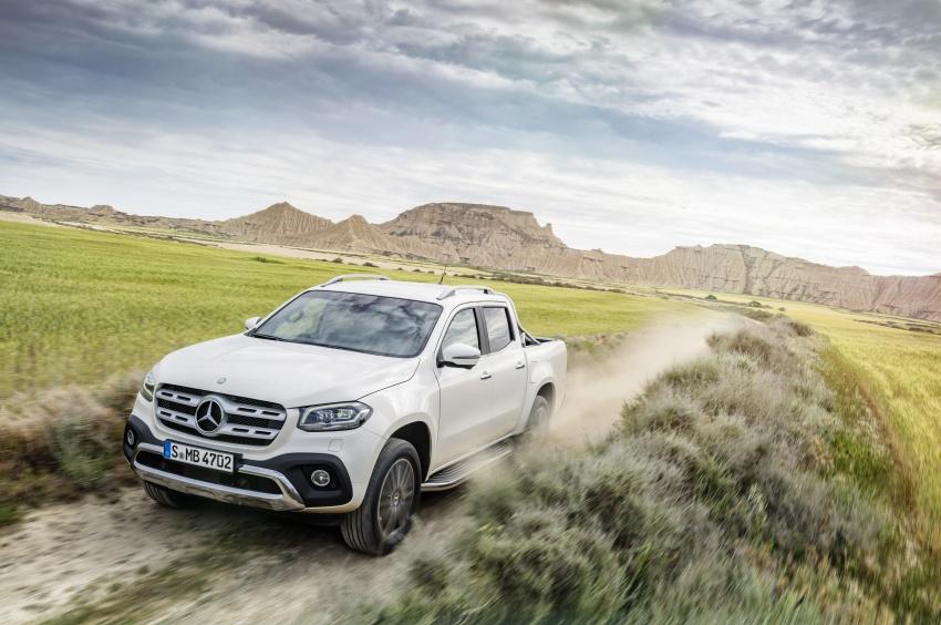 Mercedes-Benz X-Class – premium pick-up debuts Image #685153