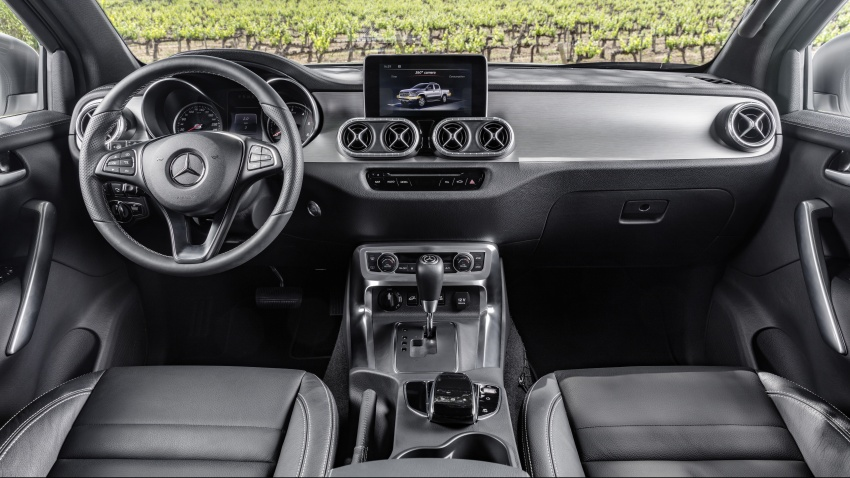 Mercedes-Benz X-Class – premium pick-up debuts Image #685156