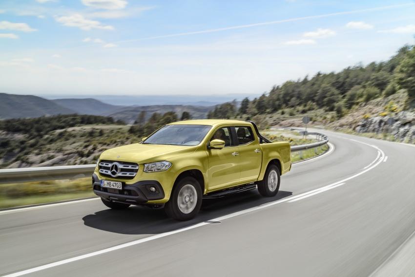 Mercedes-Benz X-Class – premium pick-up debuts Image #685224