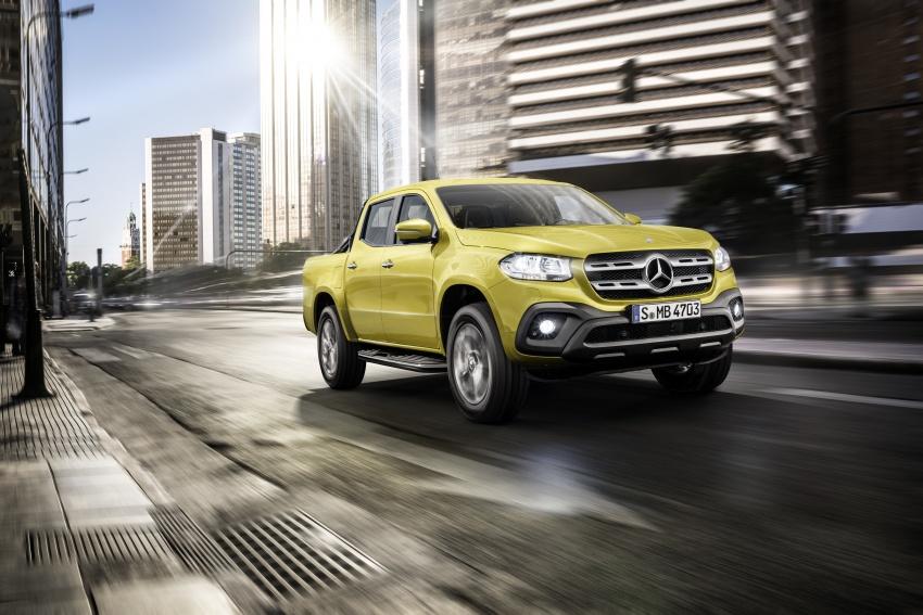 Mercedes-Benz X-Class – premium pick-up debuts Image #685242