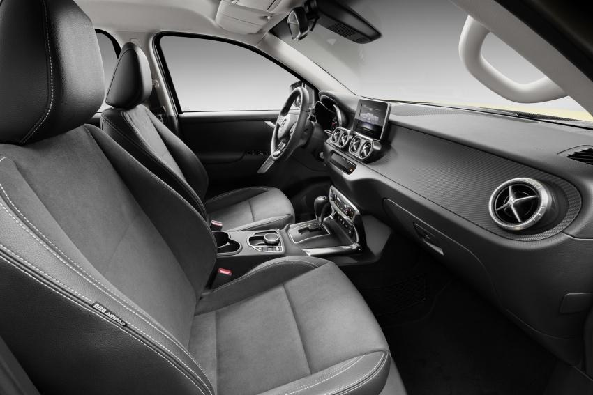 Mercedes-Benz X-Class – premium pick-up debuts Image #685251