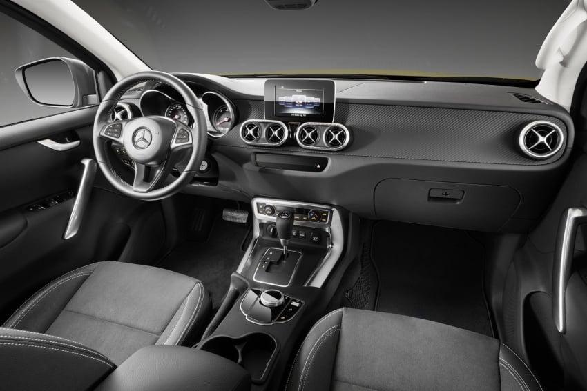 Mercedes-Benz X-Class – premium pick-up debuts Image #685252