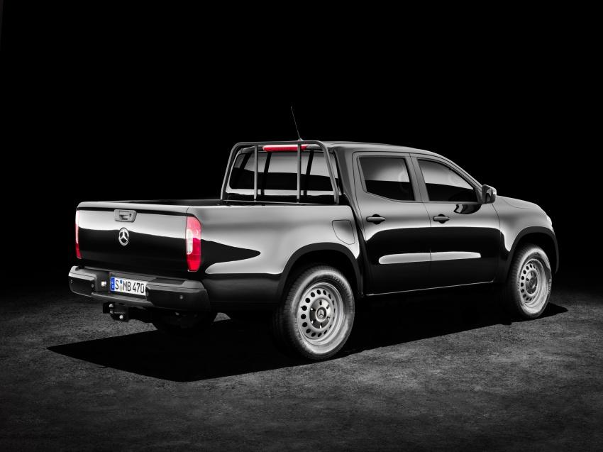 Mercedes-Benz X-Class – premium pick-up debuts Image #685255