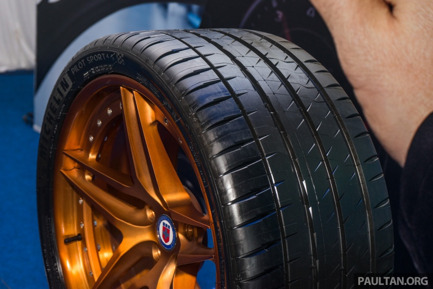 Michelin Pilot Sport 4 S launched in M'sia, fr RM1,100 Image #690058