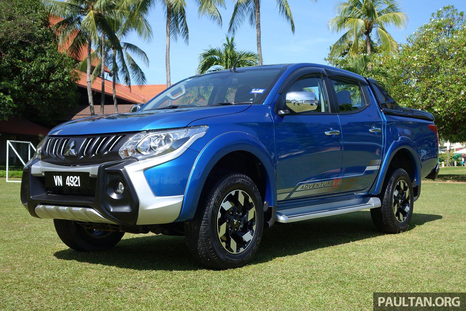 Driven 2017 Mitsubishi Triton Vgt Malaysia Review