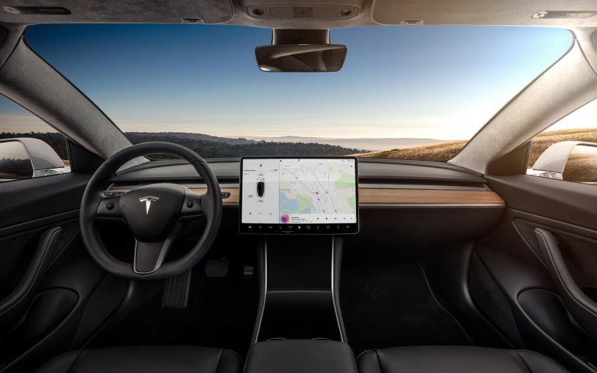 Tesla Model 3 – versi produksi model paling murah Image #691055