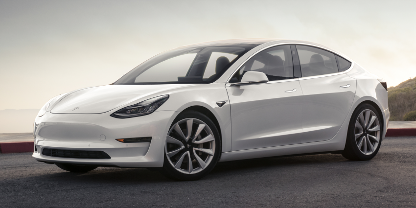 Tesla Model 3 – production entry-level model unveiled Image #690809