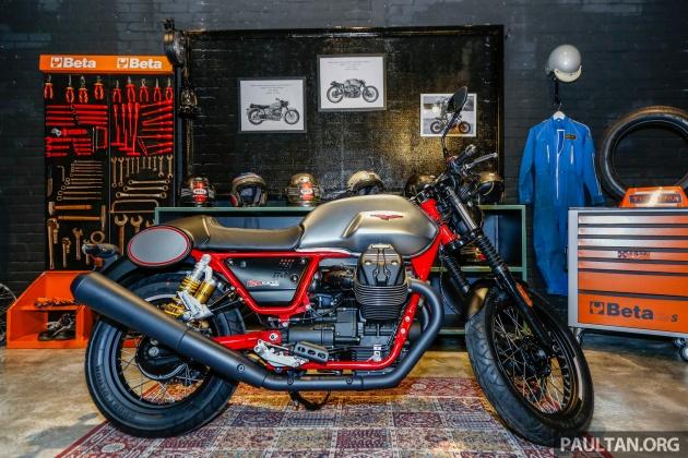 2017 Moto Guzzi bikes in Malaysia, from RM66,900