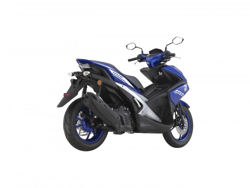 Yamaha NVX 155 dilancarkan di Malaysia – RM10,500 Image #681678