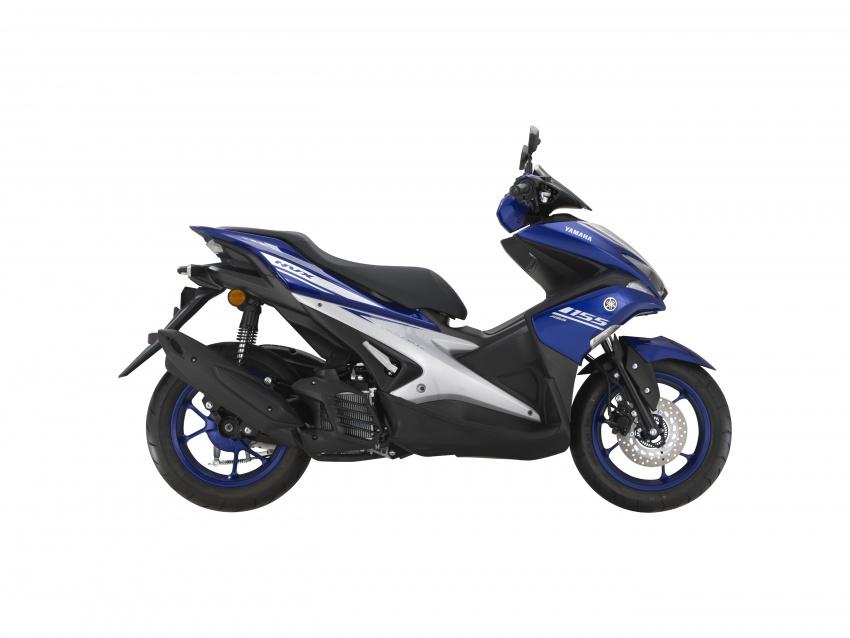 Yamaha NVX 155 dilancarkan di Malaysia – RM10,500 Image #681679
