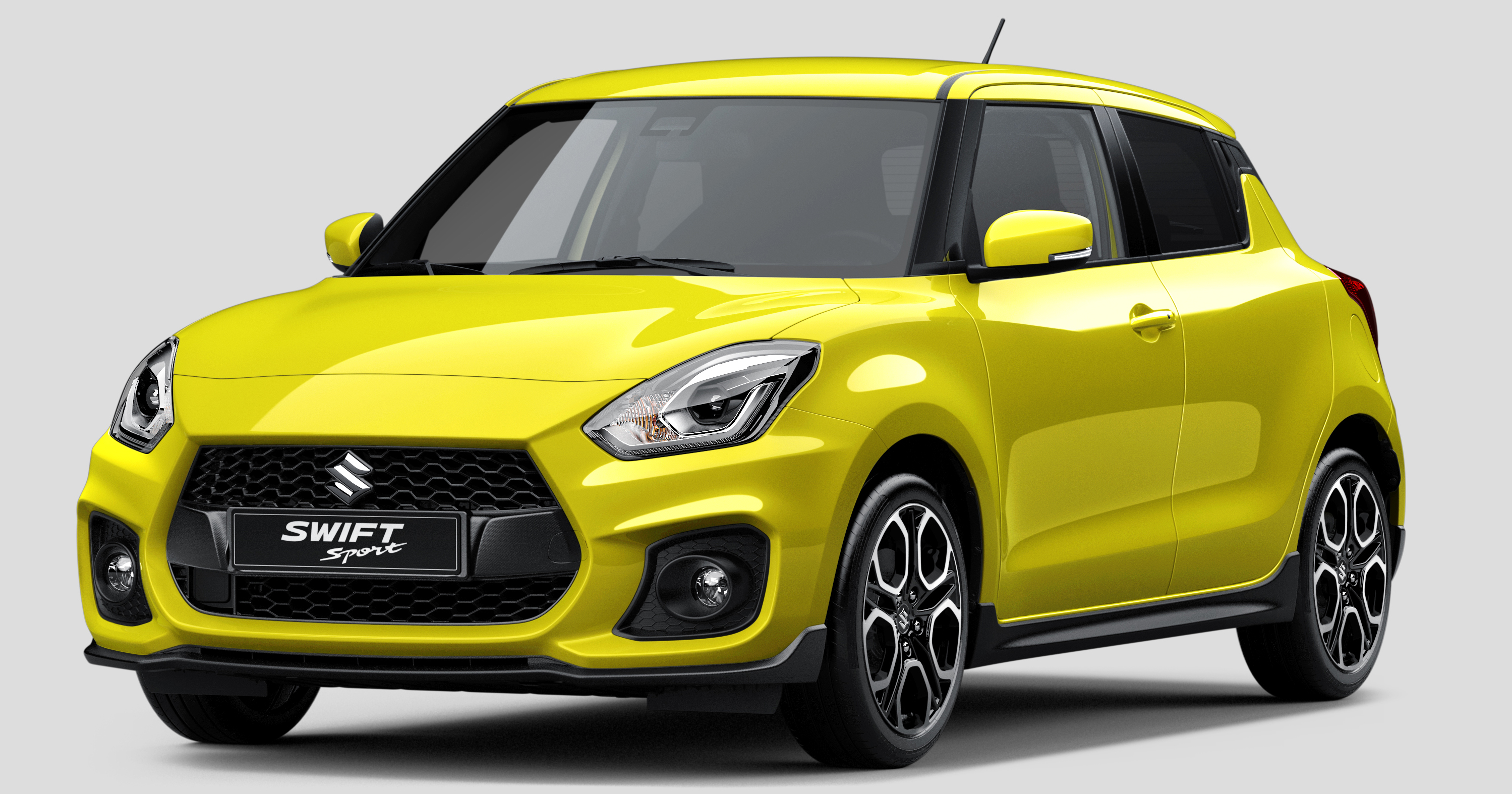 new suzuki swift sport first official photo released. Black Bedroom Furniture Sets. Home Design Ideas