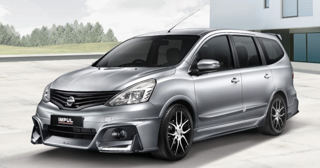 Nissan Grand Livina Impul Packages Officially Launched In Malaysia