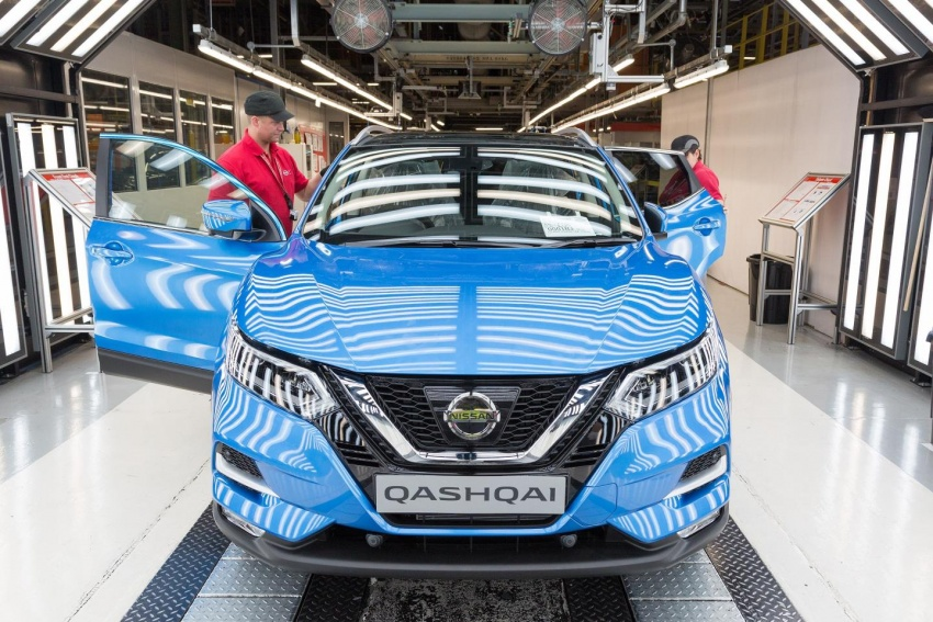 Production of Nissan Qashqai facelift starts in the UK Image #680327