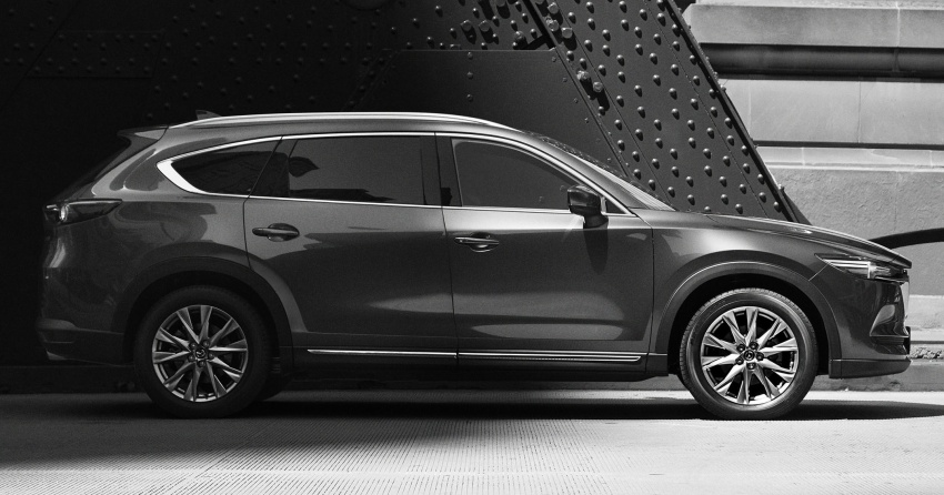 Mazda CX-8 SUV – first official exterior photo revealed Image #687623