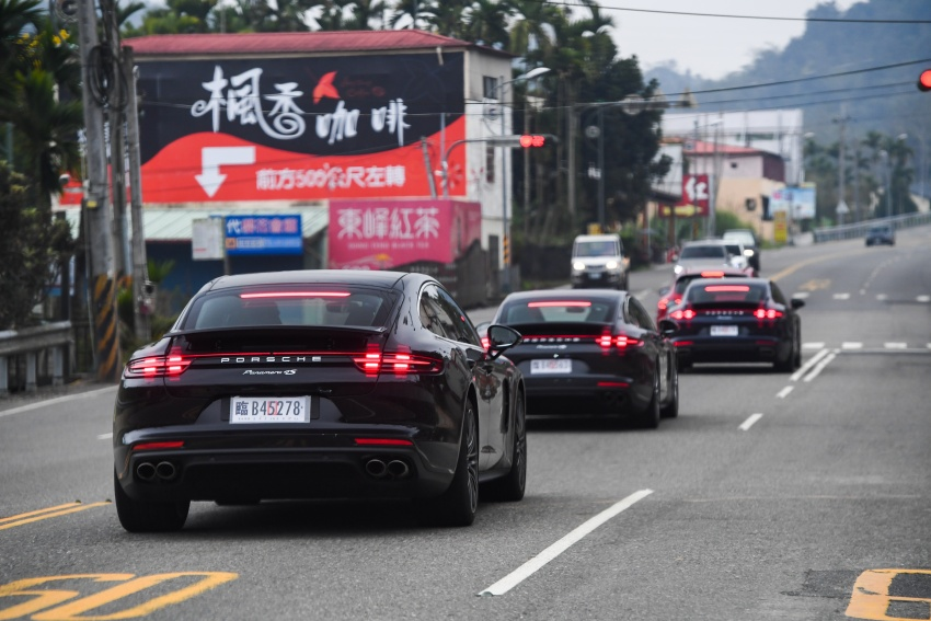 DRIVEN: 2017 Porsche Panamera 4S in Taiwan – take a break Jeeves, because the Boss wants to boss the car Image #678523