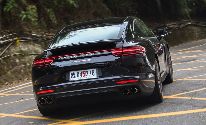 DRIVEN: 2017 Porsche Panamera 4S in Taiwan – take a break Jeeves, because the Boss wants to boss the car Image #678524