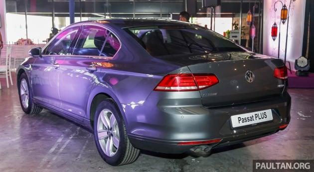 Volkswagen Passat Trendline Plus, Comfortline Plus – larger