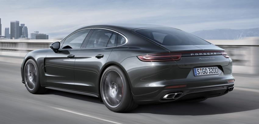 Porsche Panamera Turbo baharu kini di Malaysia – 4.0 liter V8 turbo berkembar, 550 hp/770 Nm, RM1.55 juta Image #684231