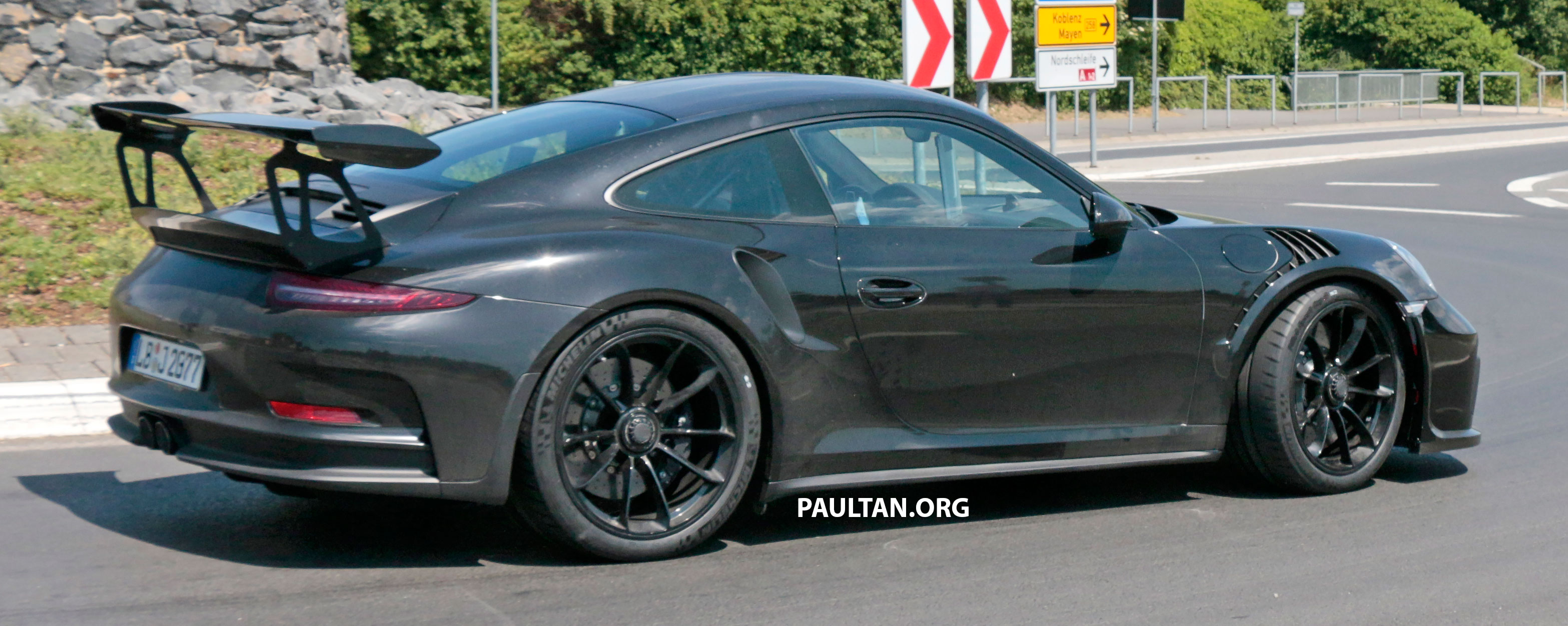 Spyshots 991 2 Porsche 911 Gt3 Rs Seen Testing Paul Tan Image 680269