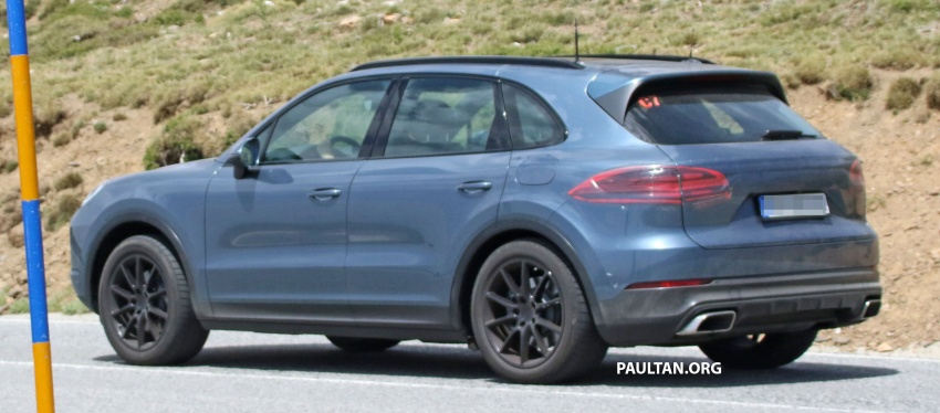 SPIED: Next-gen Porsche Cayenne almost undisguised Image #683484