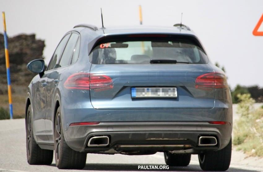 SPIED: Next-gen Porsche Cayenne almost undisguised Image #683485