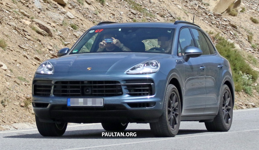 SPIED: Next-gen Porsche Cayenne almost undisguised Image #683477