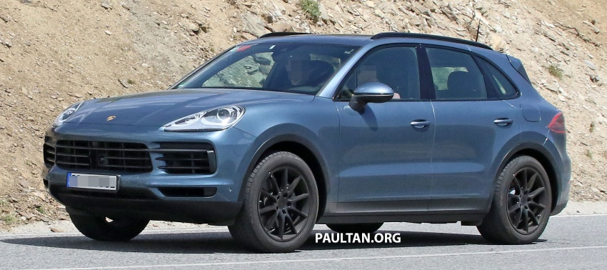 SPIED: Next-gen Porsche Cayenne almost undisguised Image #683479