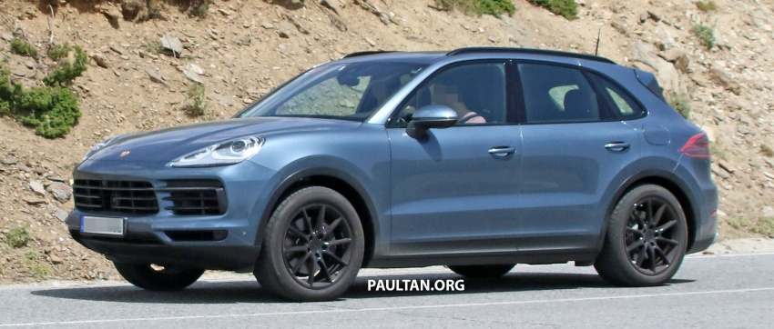 SPIED: Next-gen Porsche Cayenne almost undisguised Image #683480