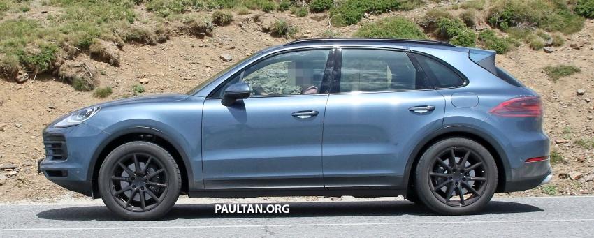 SPIED: Next-gen Porsche Cayenne almost undisguised Image #683482