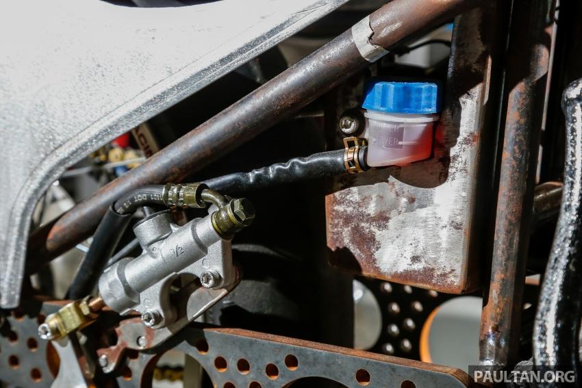 Yamaha RXZ TwinBoss dipacu dua enjin, bakal dibawa pulang oleh pengunjung bertuah Art Of Speed 2017 Image #680052